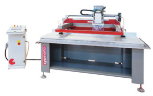 Sysmatic - CNC sink cut out machine