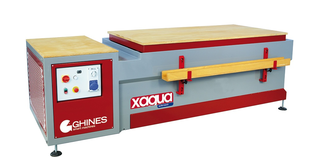XAGUA – Dust extraction bench with water depuration