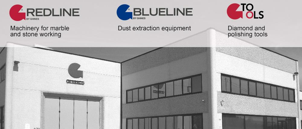 Stone fabrication equipment and diamond tools