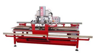 SYSTAR XL – il centro di lavoro e segatrice per taglio a 45° su marmi, graniti, agglomerati