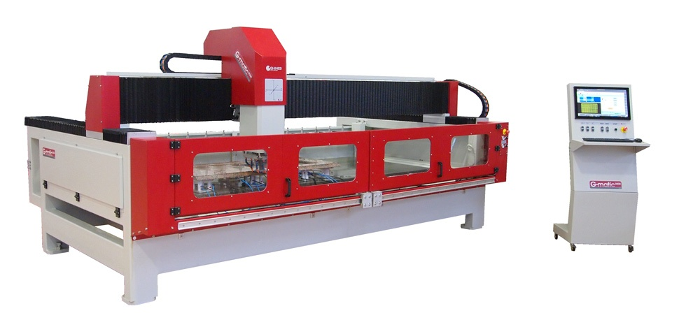 CNC work center for stone