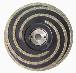 DOKOYOH – The flexible diamond coated grinding disc